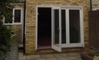 Two storey extension to terraced house